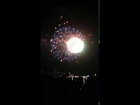 Fireworks on Hollywood Beach 2015