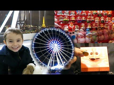 VLOG - Marché de Noël et Grande Roue sur les Champs-Élysées