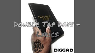 Digga D - Double Tap Days (Lyrics)