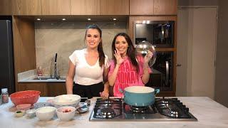 Cozinhando ao VIVO com FABI SANTINA