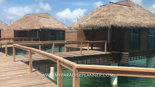 Overwater Bungalows Sandals Royal Caribbean