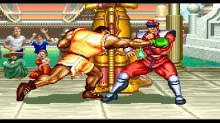 Super Street Fighter ll:The New Challengers - Balrog (Boxer) [[TAS]] HD 1080p 60 fps