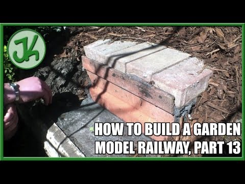 How To Build A Garden Model Railway, part 13 – Building Track Access