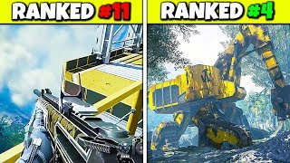 Ranking every ADVANCED WARFARE Launch Maps from WORST to BEST