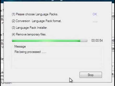 windows vista language pack german