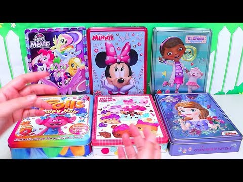 Speed Coloring Toys Num Noms Princess Sofia Minnie My Little Pony Trolls Doc McStuffins | SWTAD