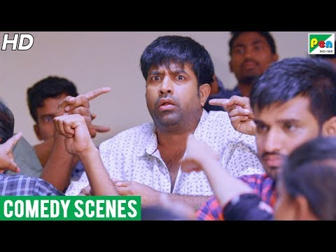 Vennela Kishore Hilarious Comedy Scene   Mard Ka Inteqam Hindi Dubbed Movie   Pen Movies