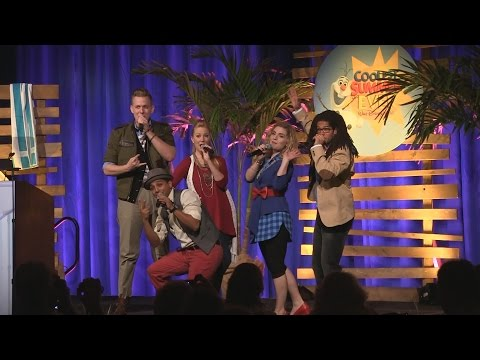 Epcot's American Music Machine preview performance during Disney's Coolest Summer Ever