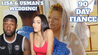 Lisa and Usman's Wedding | 90 Day Fiancé: Before The 90 Days