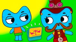 Котики, вперед! - Всё сделаю сам! - Серия 40 - развивающие мультфильмы для детей