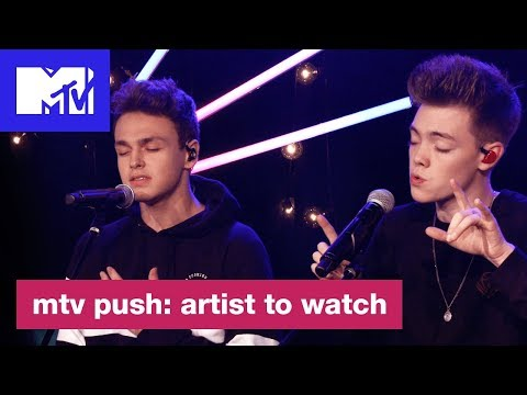 'Something Different' Live Performance by Why Don't We | MTV Push: Artist to Watch