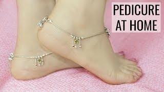 Feet Brightning Pedicure At Home - Remove SunTan | Anaysa