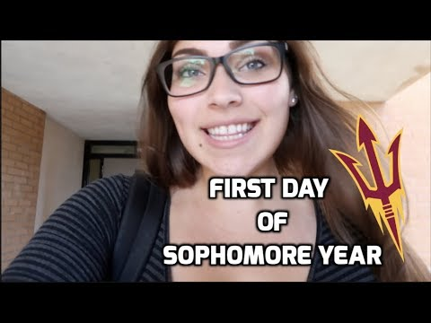 First day of Sophomore Year at Arizona State University