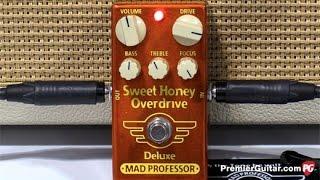 SNAMM '16 - Mad Professor Amplification Sweet Honey Overdrive Deluxe Demo