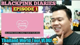 BLACKPINK DIARIES EP.1 REACTION