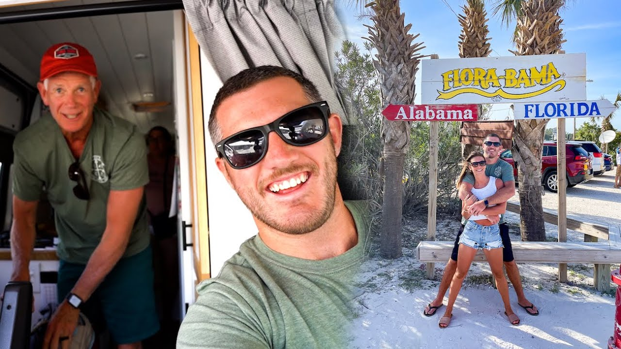 Exploring the Florida Alabama State Line w/ Special Guests & We FINALLY Find the Best Glazed Donut!