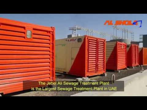 Al Shola Powering 18 MW for Jebel Ali Sewage Treatment Plant @ Dubai