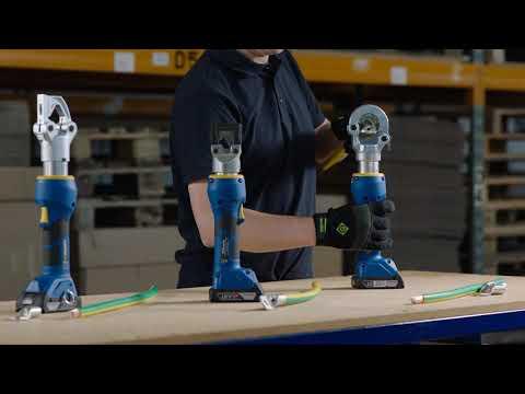 Akkuhydraulische Presswerkzeuge 18 V Von Klauke - EK354CFB, EKM6022CFB, EKM60IDCFB