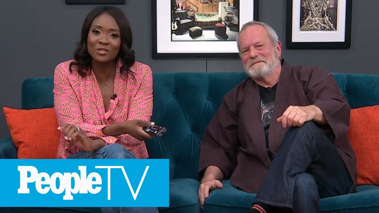 Terry Gilliam On Becoming A Full Member Of 'Monty Python' | PeopleTV