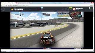 juan jugando   Nascar Racing