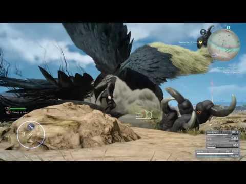 final fantasy 15 1080p 60 fps sniper gameplay