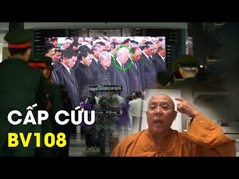 Sau lễ truy điệu, Nguyễn Phú Trọng trúng phong hàn cấp cứu trong bệnh viện có quân đội canh #VoteTv