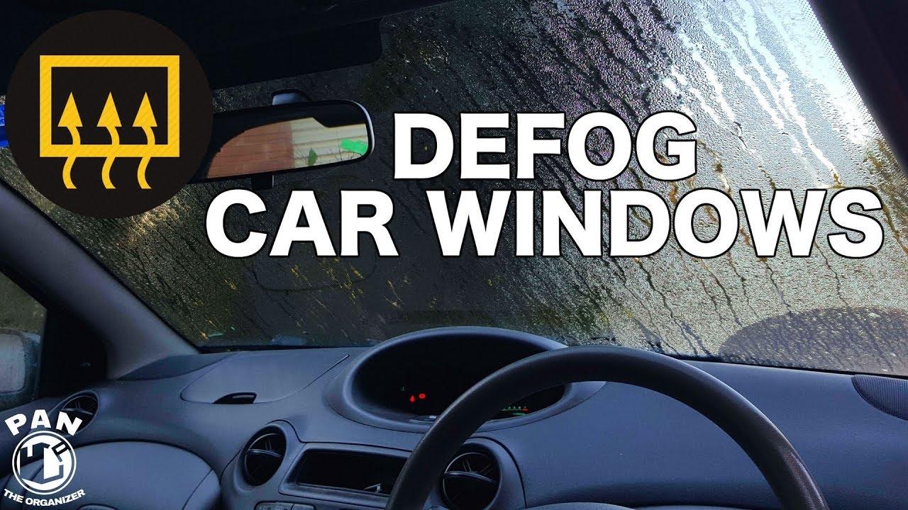 How To Defog Car Windows Super Fast Youtube