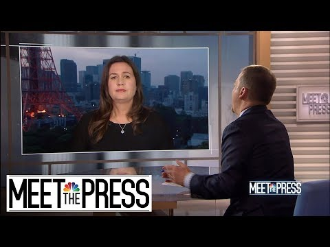 Full Sanders: North Korea Missile Tests Aren't 'Bothering The President'   Meet The Press   NBC News