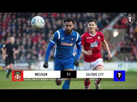 Wrexham 5-1 Salford City | The National League 26/12/18