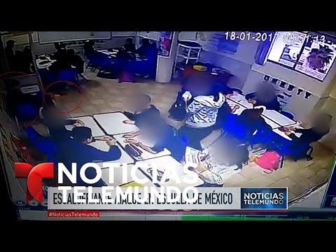 Tragedia en una escuela en Monterrey, México | Noticiero | Noticias Telemundo