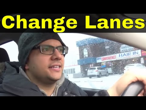 How To Change LanesTips To Pass Your Driving Test
