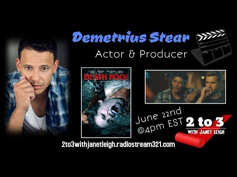 2 to 3 with Janet Leigh talks with Actor Demetrius Stear