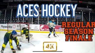 EP #23 Aces Hockey - Regular Season Finale l GoProHockey (4K)