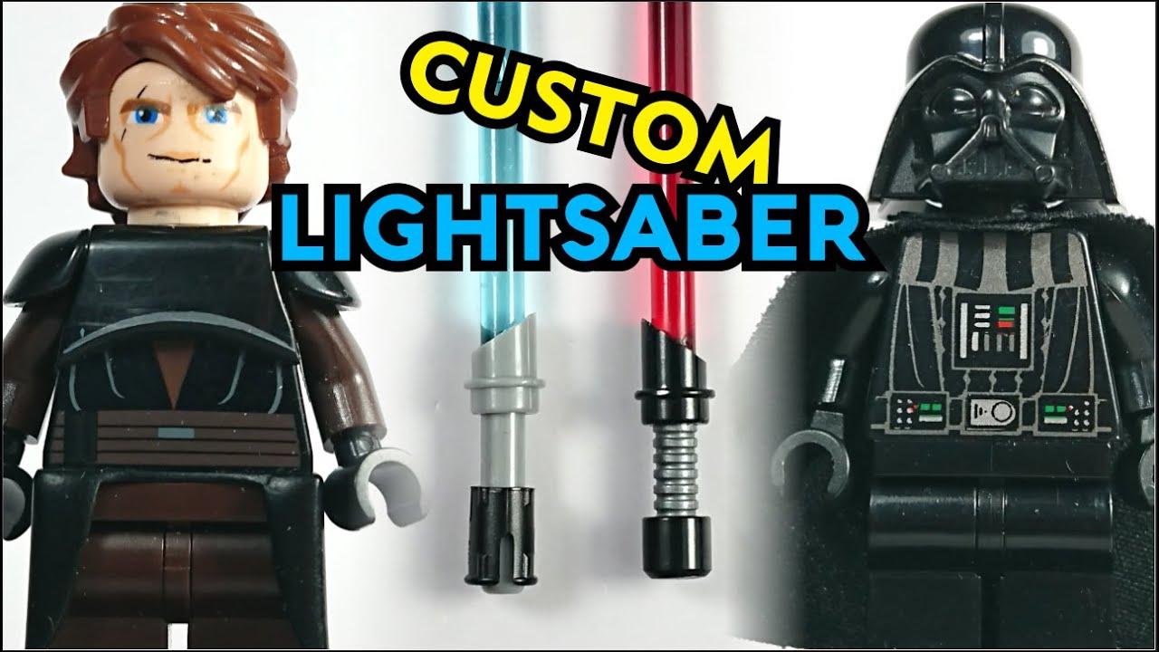 STAR WARS LEGO LIGHTSABERS MINGIGURES VADER NEW JEDI KNIGHTS