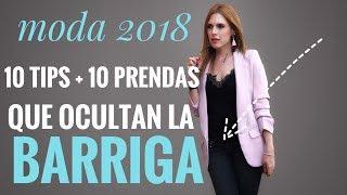 MODA 2018: 10 TIPS PARA OCULTAR LA BARRIGA/PANZA