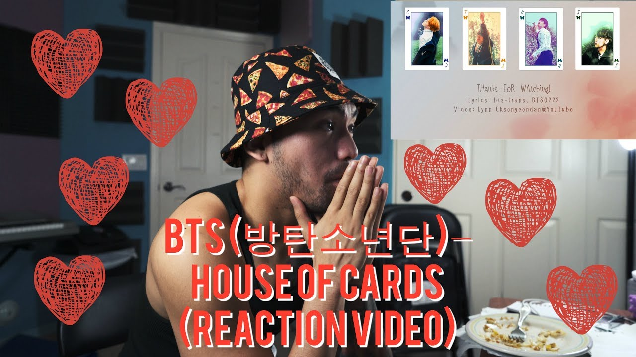 BTS (방탄소년단) – House of Cards - (REACTION VIDEO)