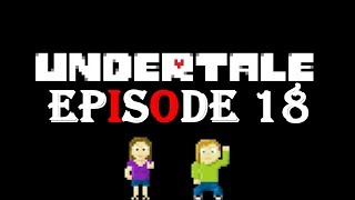 Undertale Episode 18 The Mettaton game show!!