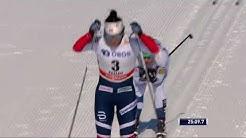 Parmakoski OUTSPRINTS Marit Bjørgen - Women's 10 km (C) Mass start - WC Falun 2018