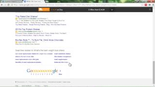 Google keyword research ...