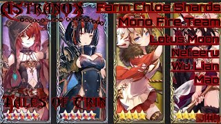 TALES OF ERIN Chloe Shards with Lotus Moon Nefeeru Mao Wu Lian - Mono Fire Team Gameplay Review #137