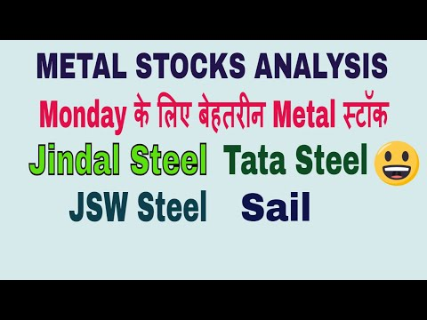 METAL STOCKS ANALYSIS || Monday के लिए बेहतरीन फार्मा स्टॉक !! Metal stock Chart Analysis !! TT