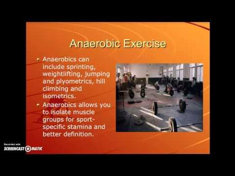 Aerobic & Anaerobic Exercise Lesson Plan