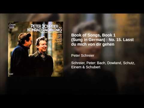 Book of Songs, Book 1 (Sung in German) : No. 15. Lasst du mich von dir gehen