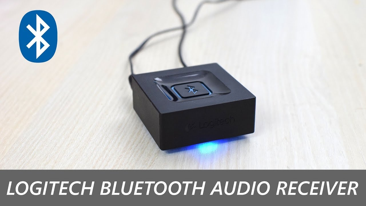 Logitech Bluetooth Audio Receiver Review, Setup, Unboxing!