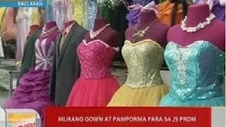 UB: Murang gown at pamporma para sa JS prom