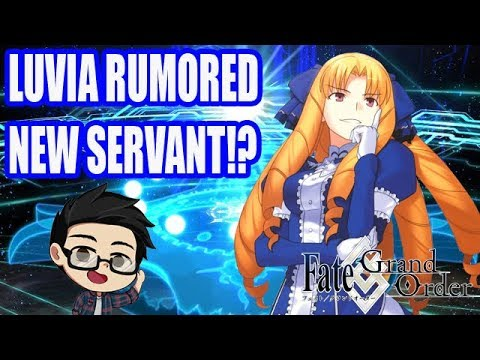 [Fate/Grand Order JP] Is Luvia The Rumored New Servant!?