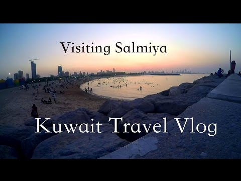 Travelling to Salmiya #Travel vlog Kuwait