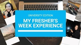 My First Week at University | My Freshers Week Experience | UCL