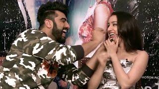 EXCLUSIVE PROMO! When Arjun Kapoor left Half Girlfriend Shraddha Kapoor in splits