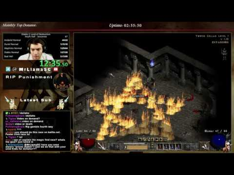 Diablo 2- MF Competition w/Teo1904 - Part 1!